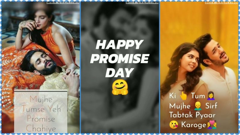 Download Happy Promise Day 2020 Whatsapp Status Video Song