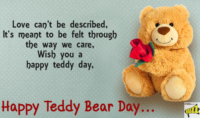 Latest Teddy Day WhatsApp Status Valentine Teddy Day