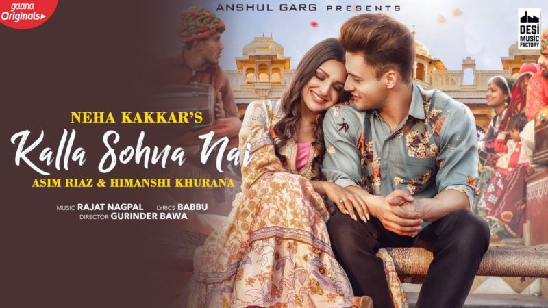 Download Kalla Sohna Nai Neha Kakkar Punjabi Status Video