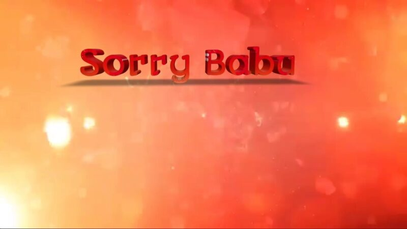 Sorry Babu Whatsapp Status Video Download for Gf