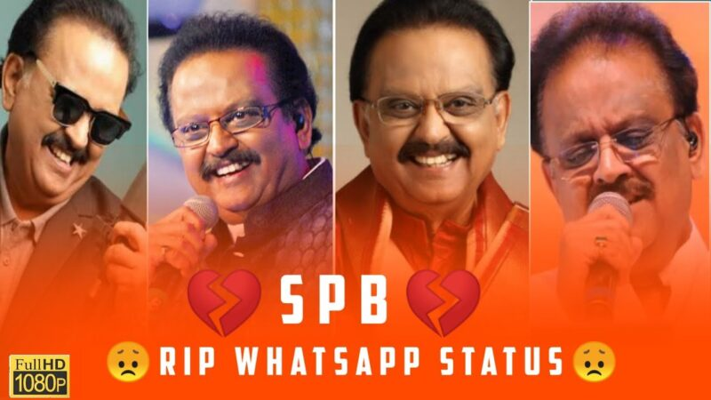 Rip SPB Video Status Song Whatsapp Download 2020