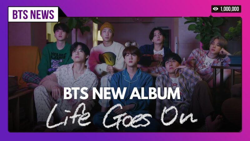 BTS Life Goes On Song Whatsapp Status Video