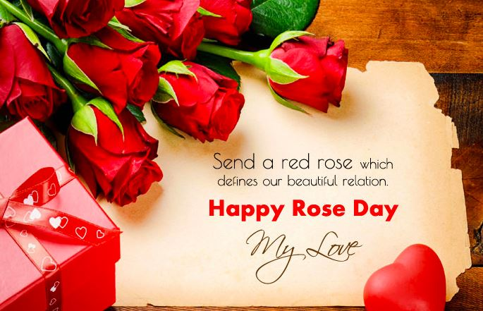 Happy Rose Day My Love Whatsapp Status Video